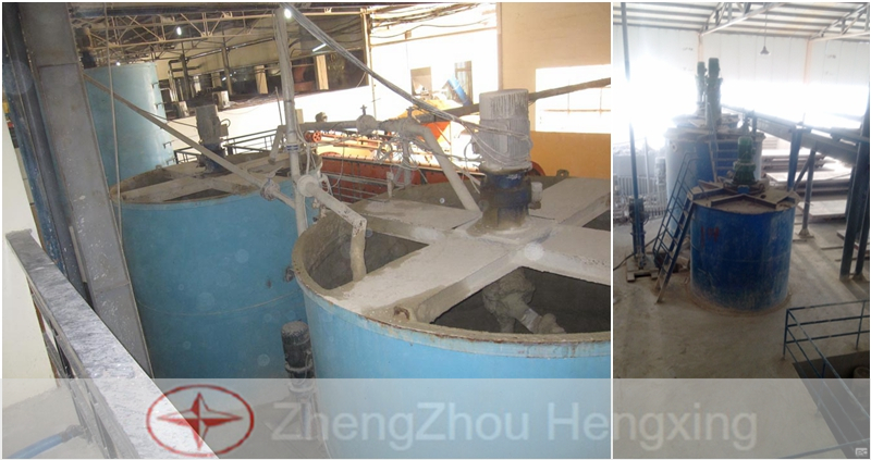 Measure Tank In Aerated Panels Production Line
